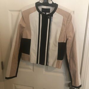 Bcbg multi color blazer